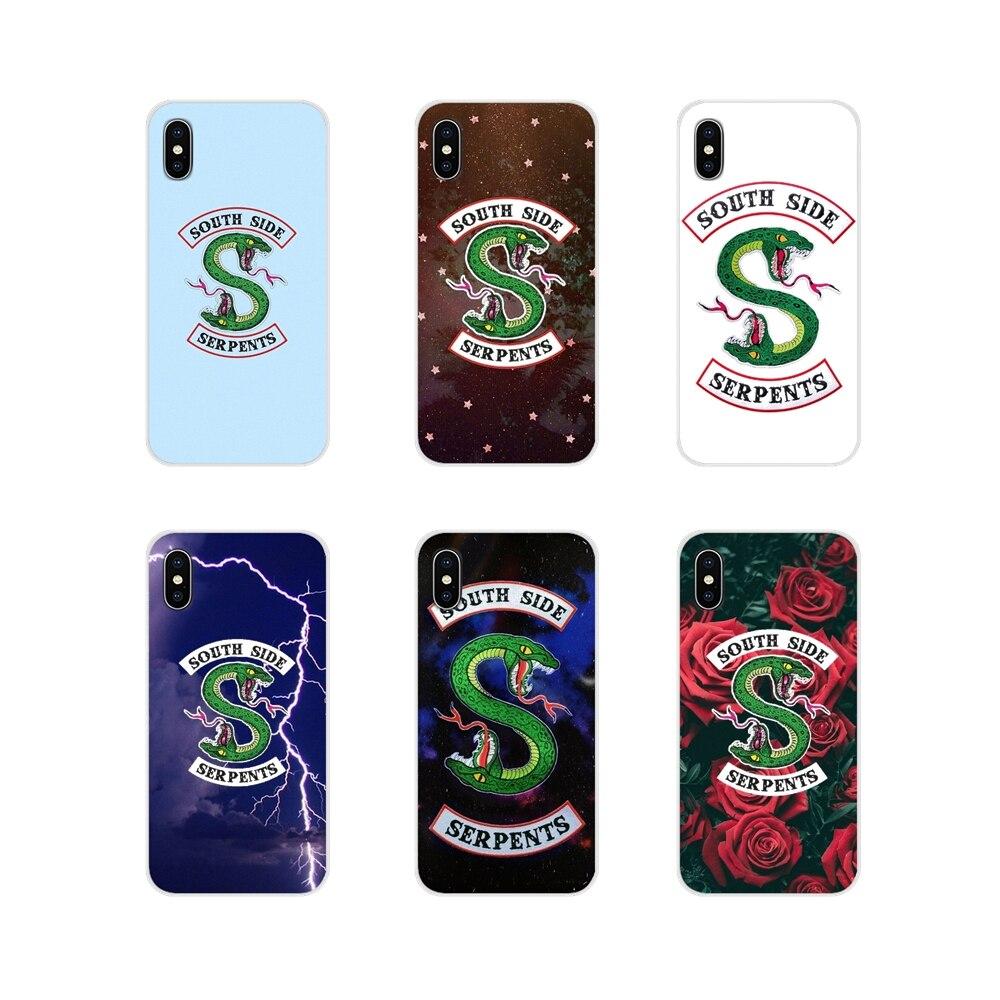 Accesorios fundas de teléfono para Samsung Galaxy A3, A5, A7, J1, J2, J3, J5, J7, 2015, 2016, televisión americana, Shows, Riverdale, SouthSide, Serpent