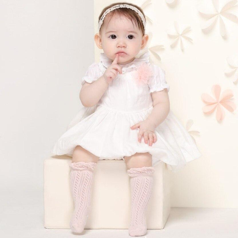 Baby Cotton Mesh Breathable Socks Newborn Infant Non-slip Baby Girls Socks Baby Girl Socks 1-24 months Toddler Baby Socks Cotton