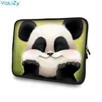 panda laptop bag tablet case notebook sleeve 7 9 7 11 6 13 3 14 15 6 17 17 3 protective case for dell asus hp acer ns 151128