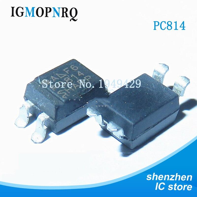 10 unids/lote nuevo Taiwan PC814A PC814 optoacoplador SOP4