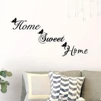 Autocollant mural en vinyle motif papillon  doux  pour la maison  decoration de la maison  pour le salon
