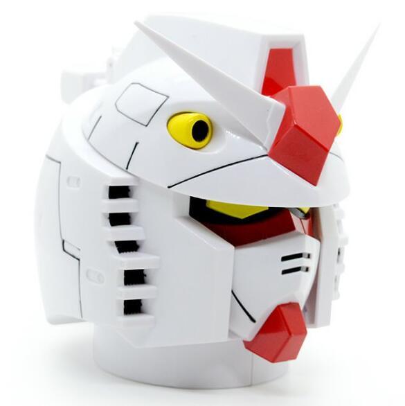 Творческий Gundam RX-78-2 голова пластик + нержавеющая сталь кружки чашка для офиса чашка для воды кружка для кофе 350 мл