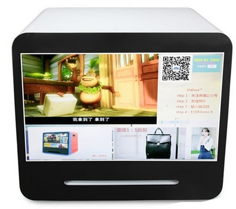 شاشة تعمل باللمس-كشك للصور الفورية الرقمية ، 42 بوصة ، 3G/Wifi ، كشك إنستا جرام ، لمركز التسوق