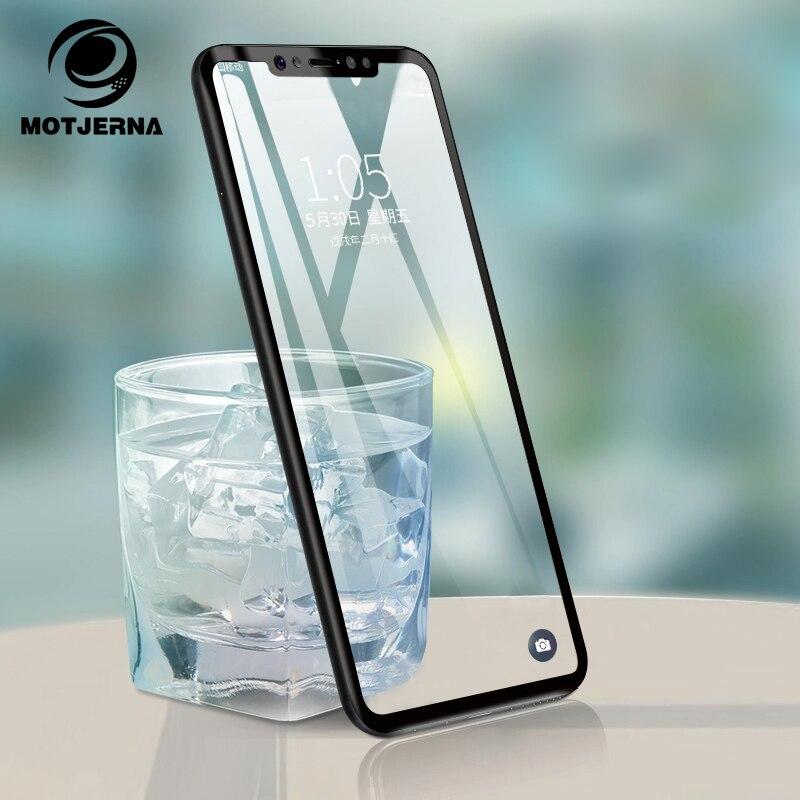 Full Cover Tempered Glass for Xiaomi Pocophone F1 Mi A2 A1 Mi8 SE 2.5D Screen Glass Film for Redmi 5 Plus 6A 6 Pro Note 5 4X S2
