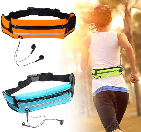 Riñonera deportiva impermeable para gimnasio, cartera para correr, tarjetero, funda para teléfono, funda para iPhone 7 7Plus Huawei P8 9 Lite Mate9 Honor8