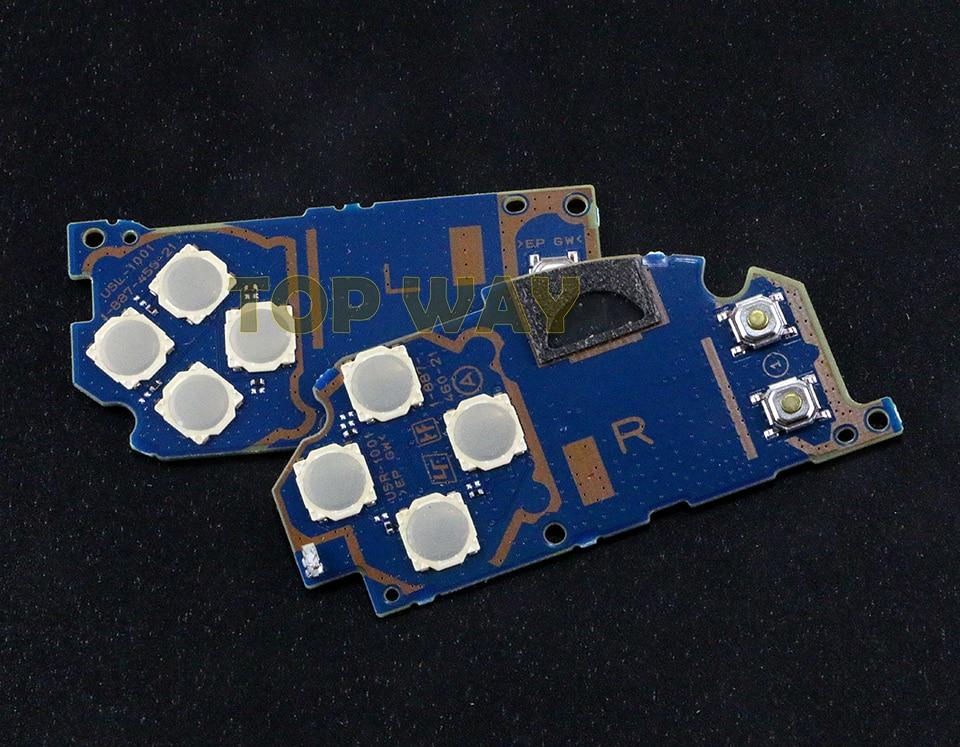 Chengdianwan-لوحة مفاتيح لوحدة الدائرة اليسرى/اليمنى LR PCB ، لـ PS Vita 2000 ، لـ PSV2000 PSV 2000 ، 10 قطعة