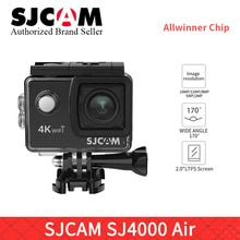 "SJCAM SJ4000 AIR 4K 30fps WIFI Action Camera 1080P 60FPS waterproof Sports DV 2.0"" Mini Helmet Camera sj cam pro yi 4K camara h9"