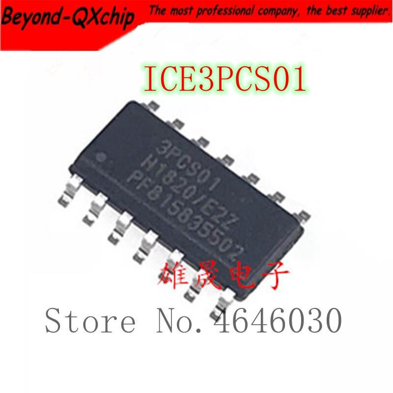 Envío gratis 10 unids/lote ICE3PCS01 3PCS01 SOP-14 de la mejor calidad