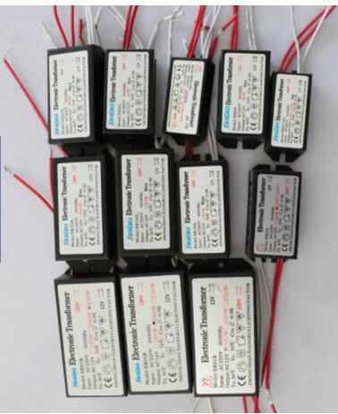 3 years warranty 20w 40w  50w 60w 80w 200W Electronic Transformer 220V - 12V LED Halogen Light Bulb Lamp Power Supply Driver