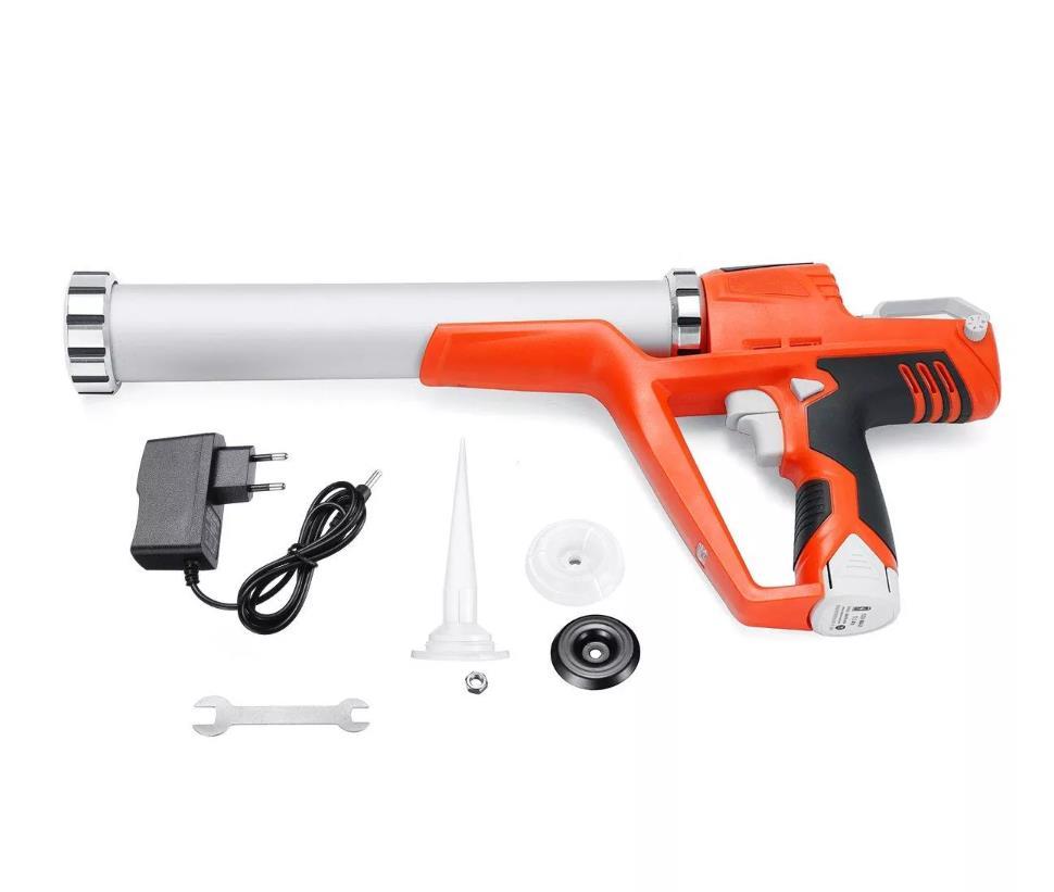 Электрический герметик-пистолет с картриджем 12 В, 1,5 АЧ, беспроводной герметик-пистолет для герметизации аккумулятора, герметик для картрид...