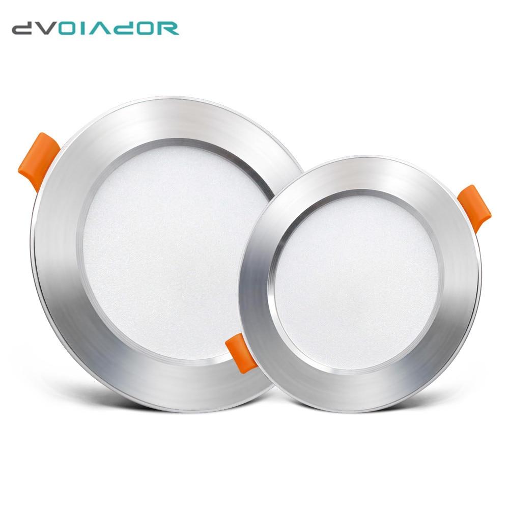 Lámpara LED empotrada redonda empotrada de 220V de 12w, 9w, 7w, 5w y 3w, bombilla Led para dormitorio, cocina, foco LED de interior