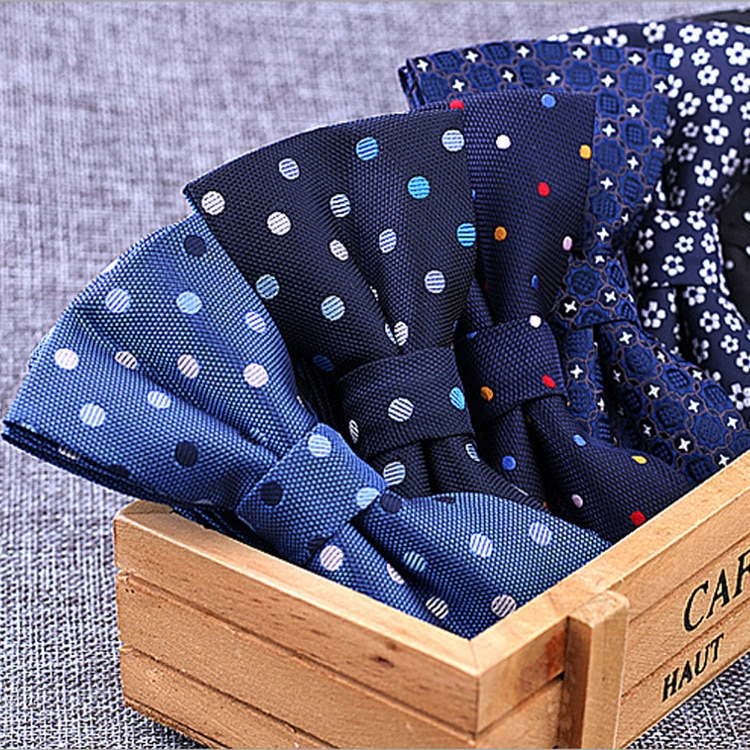 Brand New 100% Microfiber Bowtie Woven Dot Checked Stripped Bow Tie Butterfly Wedding Dress Mens For