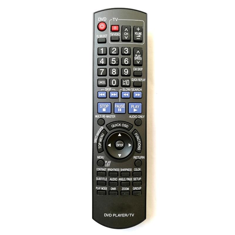 Nuevo Control remoto Original N2QAYB000198 apto para Panasonic reproductor de DVD/TV uso remoto para PANASONIC