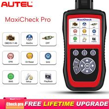 Autel MaxiCheck Pro OBD2 сканер автомобильный диагностический инструмент EPB/ABS/SRS/SAS/Подушка безопасности/сброс масла/BMS/DPF Batter launch x431 elm327