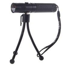TANK007 HC-128 HA-III Cree Q5-WC 5-Mode 230-Lumen Memory LED Flashlight With Tripod