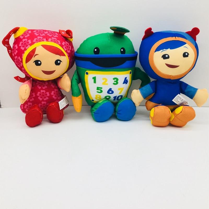 Equipo Umizoomi, hermana, chicas, animales de peluche de dibujos animados, muñecos de niños, regalos de Navidad para bebés, 20cm