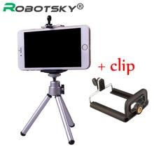 Мини штатив-подставка с креплением для телефона, держатель для iphone Samsung, мобильный телефон для Gopro Hero 5 4 3 2, Экшн-камера