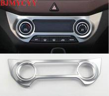 BJMYCYY наклейки для центральной консоли рамка с блестками украшение интерьера для Hyundai Creta IX25 2016 автомобильные аксессуары для автомобиля-Стайлинг