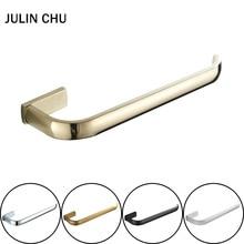 30 cm Hand Towel Ring Holder Black White Towel Bar Antique Bronze Chrome Towels Hanger Ring Gold for Bathroom Accessory Kitchen