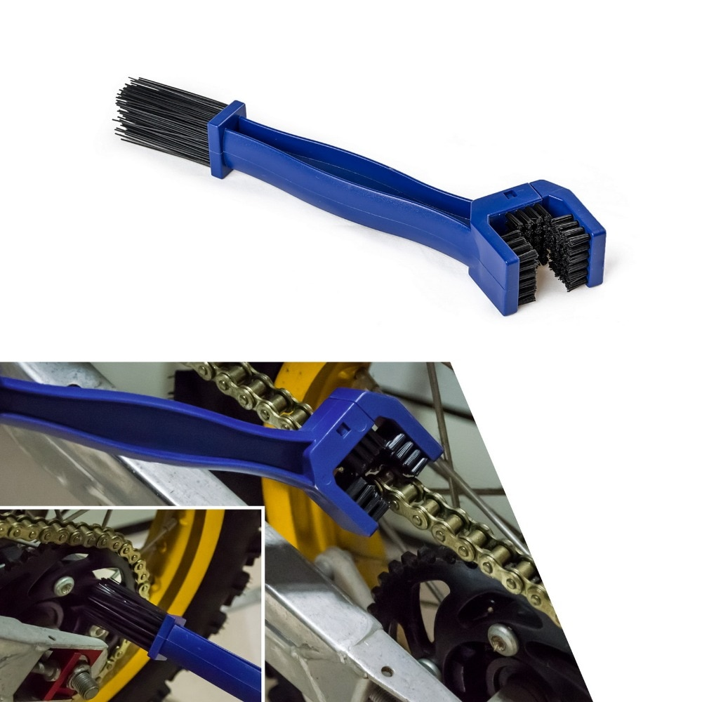 Motorcycle Chain Maintenance Cleaning Brush Dirt Cleaner Tool For Suzuki GSXR GSX-R 600 750 1000 1300 K1 K2 K3 K4 K5 K6 K7 K8 K9