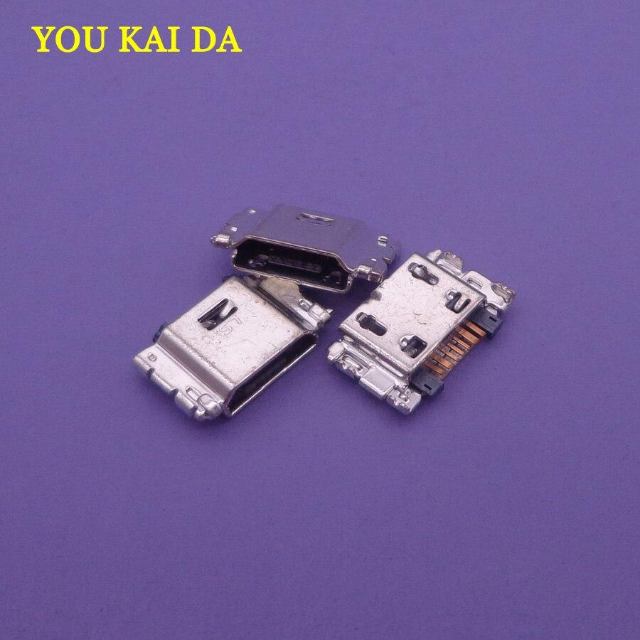 200 pcs Micro USB Porto De Carregamento Conector Jack 7Pin Para Samsung SM-J500 SM-J100 J5008 J500F J700 J7008 J5008 J500F J700 j700F