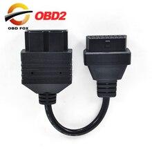 2020 для Kia 20 PIN к 16 PIN OBD1 к OBD2 кабель для подключения Kia 20PIN автомобильный диагностический инструмент кабель forKia 20 PIN диагностический коннектор