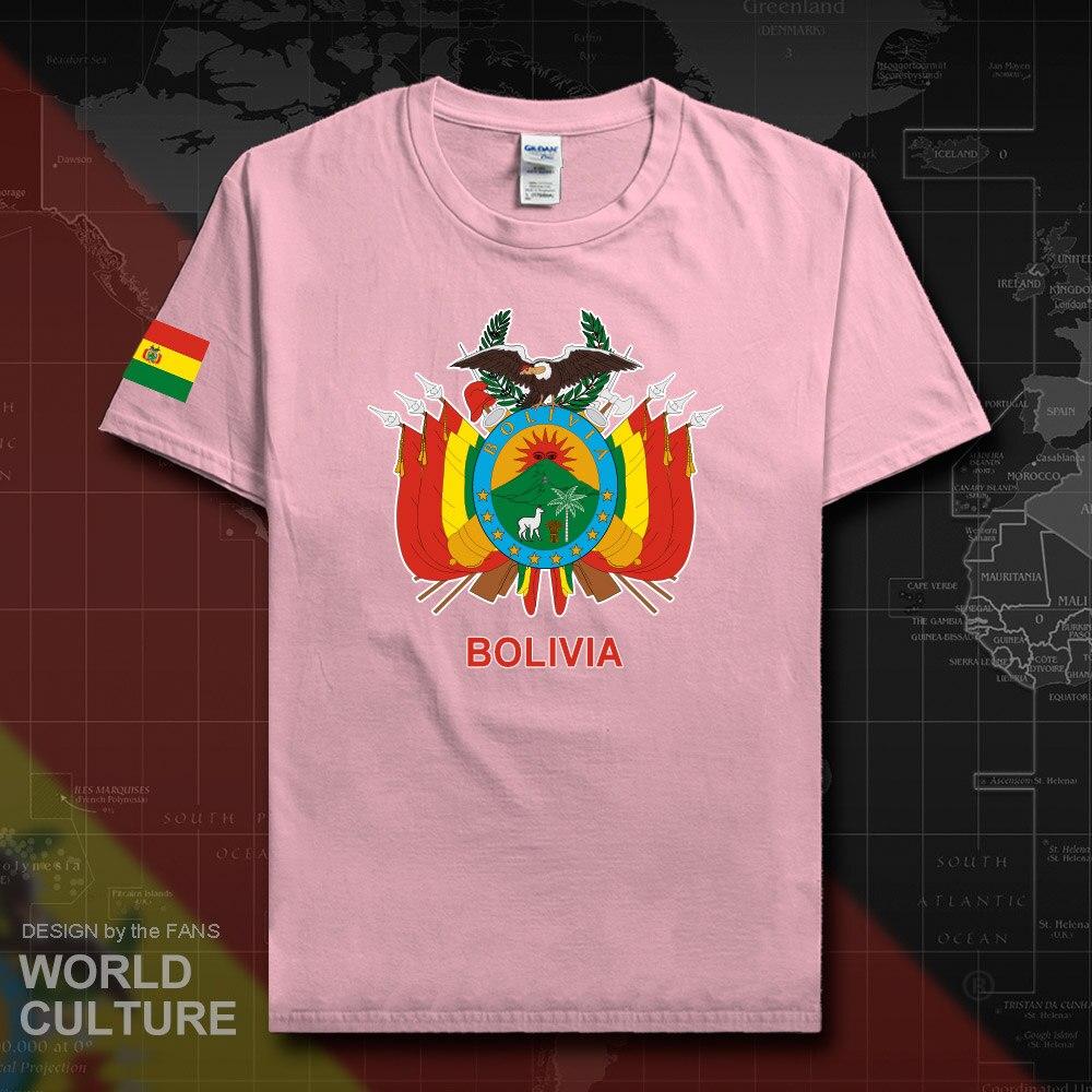 Camiseta boliviana de Bolivia 2018, camiseta del equipo de la Nación, camiseta de algodón, ropa, camisetas, BOL deportivo campestre Buliwya Wuliwya 20