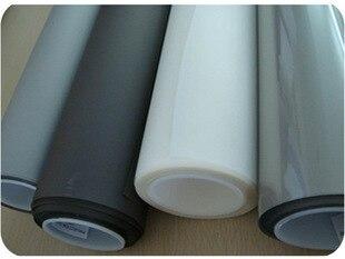 شحن سريع! ورق عرض خلفي 10 متر مربع (1.524 م * 6.67 م) ، لون أبيض/حليب أبيض ، لنافذة المتجر