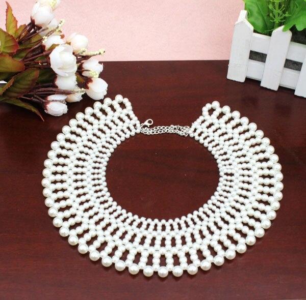 ¡NOVEDAD DE 2017! collar exclusivo de perlas de imitación de alta calidad de venta al por mayor