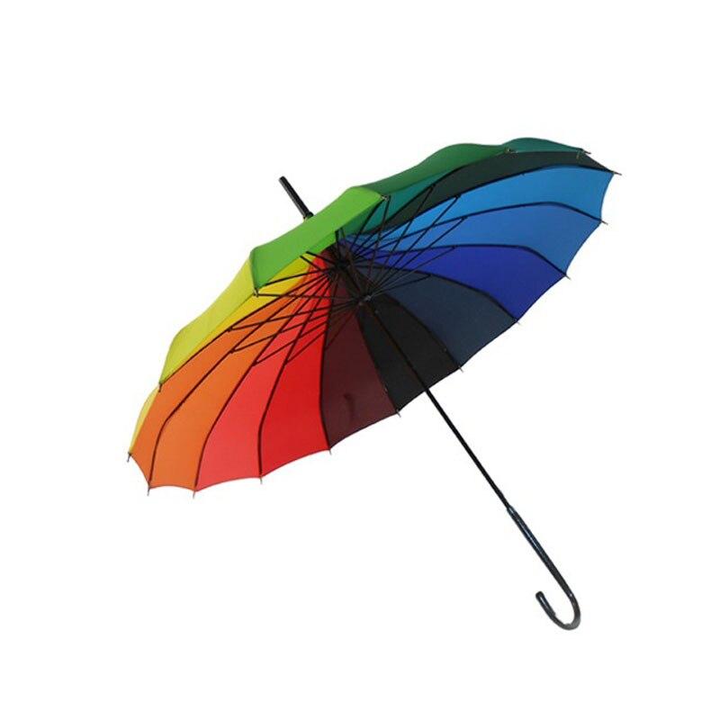 100 pcs Linda Rainbow Guarda-chuva Pongee Pagode Sol Palácio Gothic Lolita Estilo de Festa de Casamento Decoração Presente Guarda-chuva ZA1171