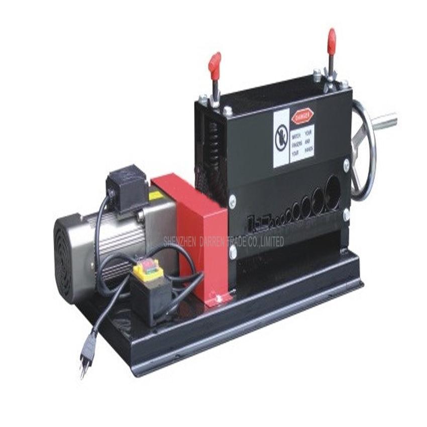 Manuelle elektrische doppel mit abisolieren maschine Elektrische Schrott Kabel Abisolieren Maschine