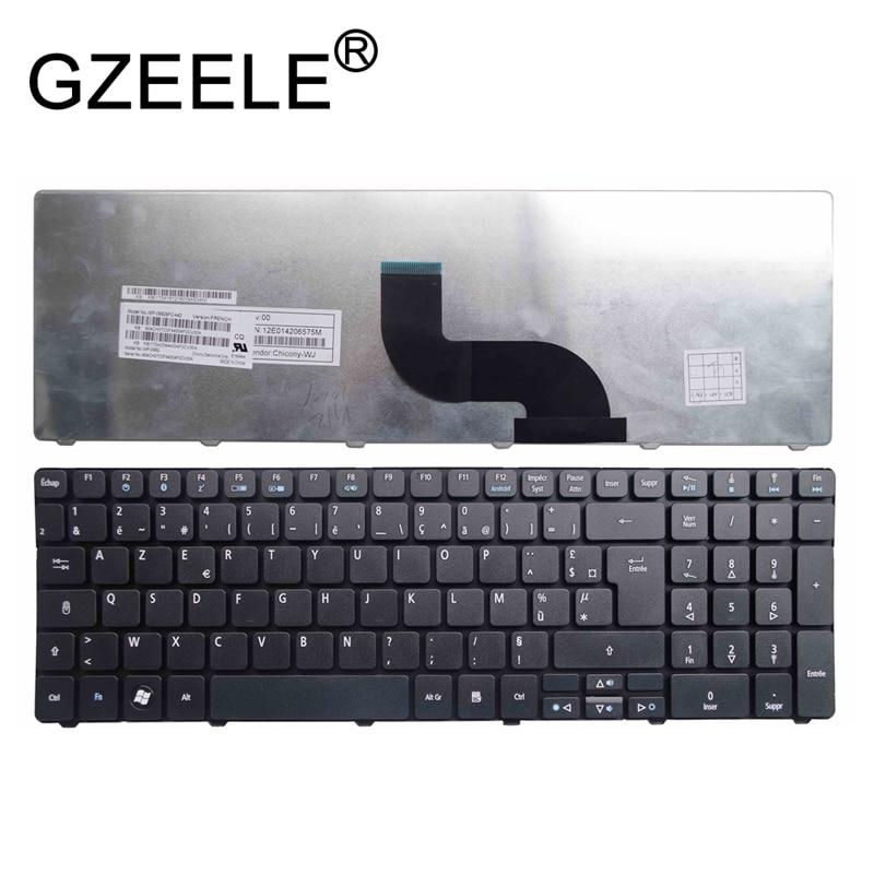 Французская клавиатура GZEELE FR для Packard Bell NE71B Q5WTC Z5WT1 V5WT2 Q5WV1 Z5WT3 Z5WTC F4036 LE EG70 EG70BZ AZERTY