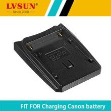 LVSUN batterie Rechargeable adaptateur plaque pour Canon BP911 BP-915 BP-924 BP-927 BP-930 BP-941 BP-945 BP-950G BP-955 BP-970G BP-975