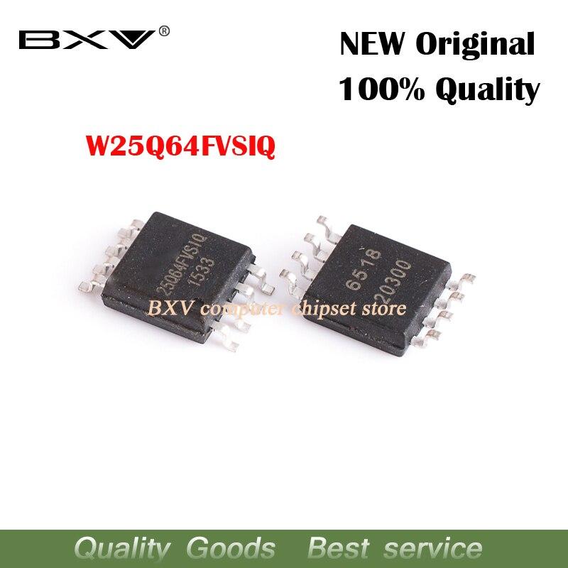 10 piezas W25Q64FVSSIQ W25Q64FVSIQ 25Q64FVSIQ 25Q64 SOP nuevo original ordenador portátil chip envío gratis