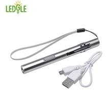 Stylo de conception étanche avec Clip en métal, lampe de poche LE de haute qualité puissant XML, stylo à suspendre avec chat à Clip en métal