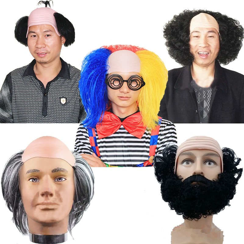 Divertida decoración de cabeza de Anime Cosplay Sand monje Guerrero cubierta de cabeza Blame Half Light menggar Head disfraz para adulto en fiesta de Halloween