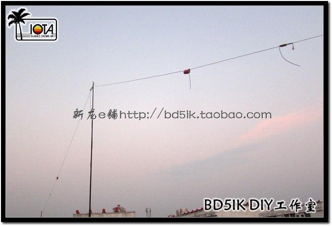 NOVO 1 PC K-720 dois band antena de ondas curtas, PRESUNTO antena de ondas curtas, 7 trilhões de 14 megahertz antena