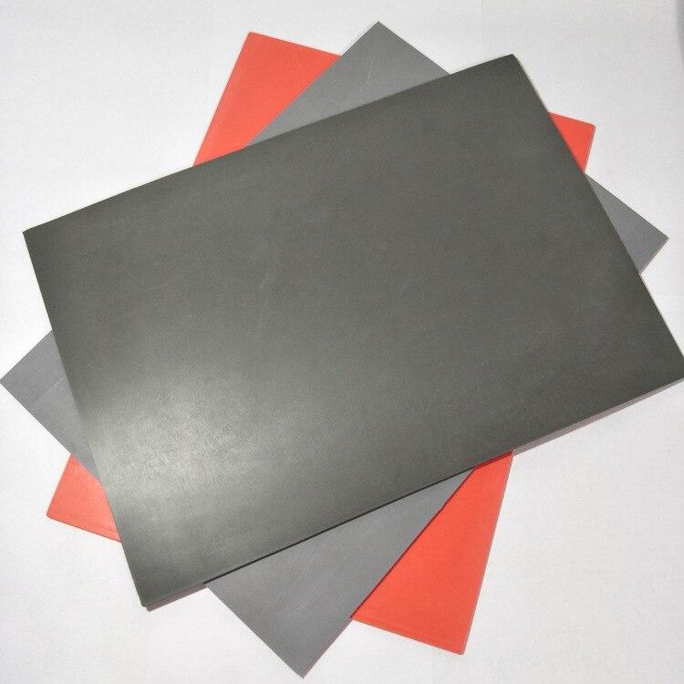 Almohadilla de grabado láser, material adhesivo 3M para tinta trasera, almohadilla de goma estampada sin humo y almohadilla de grabado insípido, autoentintado
