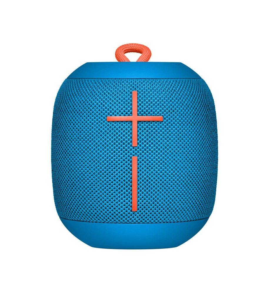 Altavoz portátil Bluetooth Logitech Ultimate Ears, WONDERBOOM, a prueba de agua IPX7, con 10 horas de batería