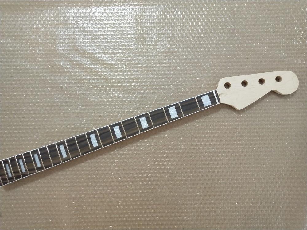 1 piezas sin Jazz bass estilo guitarra cuello de arce 20 te preocupes rosewood diapasón