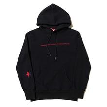 032C Red Skull Embroidery Women Men Hoodies Sweatshirt F 1:1 High Quality Streetwear Men Cotton Hoodies Pullover