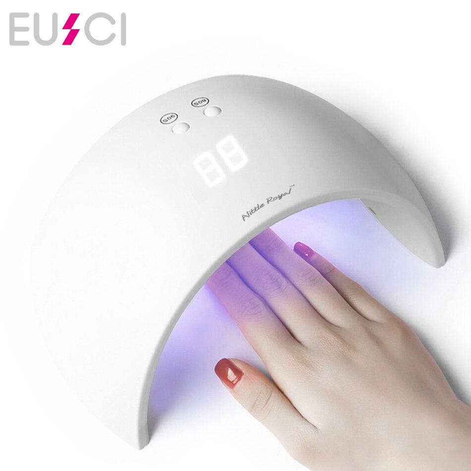 UV LED Nail Lamp For Manicure Nail Dryer Ice Nail Lamp Polish Drying Hybrid Lamp For Nails Auto Sensor Manicure Tools