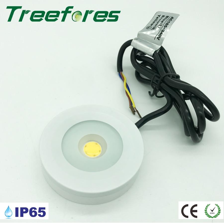 3 w 110 v 220 v 240 v ip65 triac pode ser escurecido mini lampada led downlight 80ra