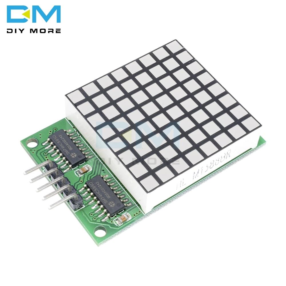 8x8 8*8 8 X 8 Square Matrix Red LED Display Dot 74hc595 Drive Driver Module For Arduino UNO MEGA2560 DUE Raspberry Pi Board