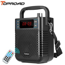 TOPROAD Bluetooth Speaker Subwoofer Heavy Bass Wireless Big Speakers Boombox Sound Box Support FM TF USB Indoor Outdoor Speaker