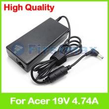19 V 4.74A 90 W del ordenador portátil cargador de adaptador de alimentación de CA para Acer TravelMate 4102, 4103, 4104, 4106, 4150, 4151, 4152 4153, 4154, 4200, 4210, 4220