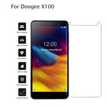 Tempered Glass For DOOGEE X100 2019 Glass Screen Protector 9H Glass Case Cover For Doogee X 100 X100