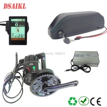 Ue US pas de taxe top qualité hailong 52 V 17.5Ah sanyo GA ebike batterie et bafang 8fun BBS03/BBSHD 48 v 1000 w kit de moteur dentraînement moyen