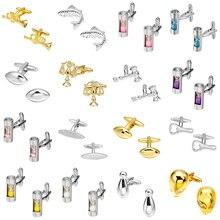 Boutons de manchette MeMolissa de luxe de haute qualité en or et argent, boutons de manchette en sablier, boutons de manchette pour hommes, bijoux pour hommes
