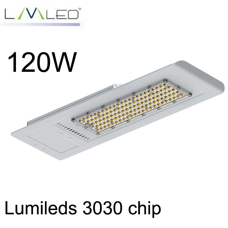 Farolas de 120 W, farola LED, excelente disipador de calor, diseño de carretera, farola